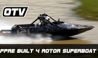 Peter Huijs' PPRE 4 rotor sprint boat