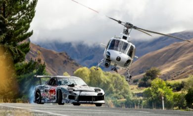 Behind the Scenes of Mad Mike Drifting Crown Range in NZ
